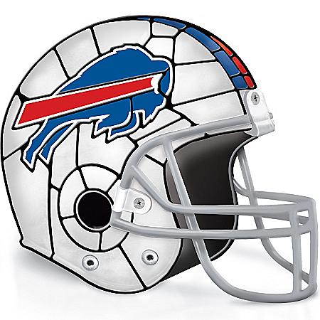 Photo of NFL Buffalo Bills Accent Helmet Lamp by The Bradford Exchange Online