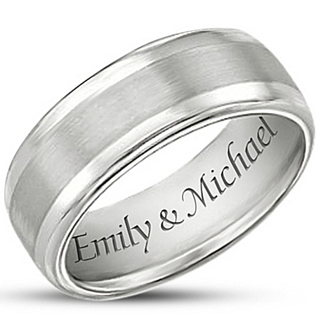 Photo of Men's Ring: Our Forever Love Personalized Ring by The Bradford Exchange Online