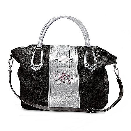 Photo of Designer Handbag: Ribbons Of Hope by The Bradford Exchange Online