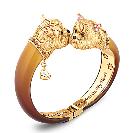 Photo of Choose Your Breed Sophistipups Dog Bangle Bracelet by The Bradford Exchange Online