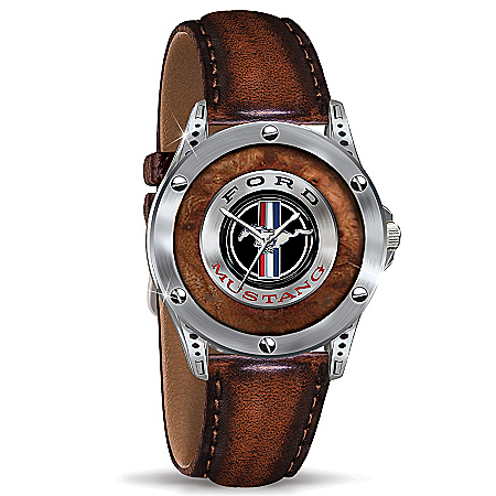 Photo of Men's Watch: Mustang - An American Classic Commemorative Watch by The Bradford Exchange Online