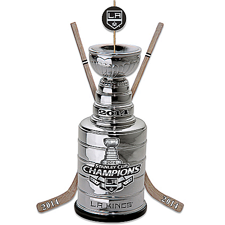 Photo of Ornament: Los Angeles Kings® 2014 Stanley Cup® Trophy Ornament by The Bradford Exchange Online