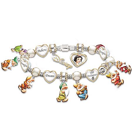 Photo of Disney's Snow White Commemorative Bracelet by The Bradford Exchange Online