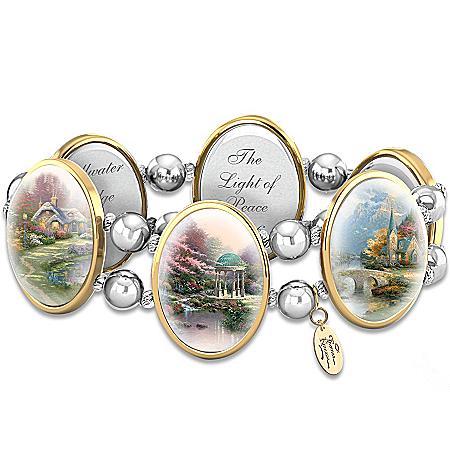 Image of Thomas Kinkade Bracelet: Moments Of Inspiration