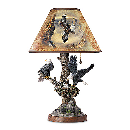 Photo of Lamp: Treetop Majesty Lamp by The Bradford Exchange Online