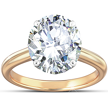 Photo of Ring: Class Act Celebrity Diamonesk Ring by The Bradford Exchange Online
