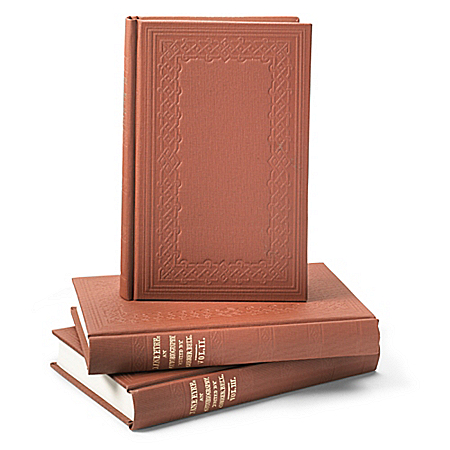 Photo of Jane Eyre 3-Volume Recreated First Edition Book Set by The Bradford Exchange Online