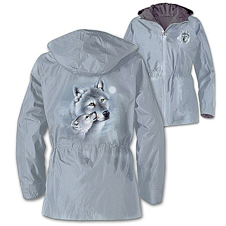 Photo of Guardians Of The Wild Women's Anorak Jacket by The Bradford Exchange Online