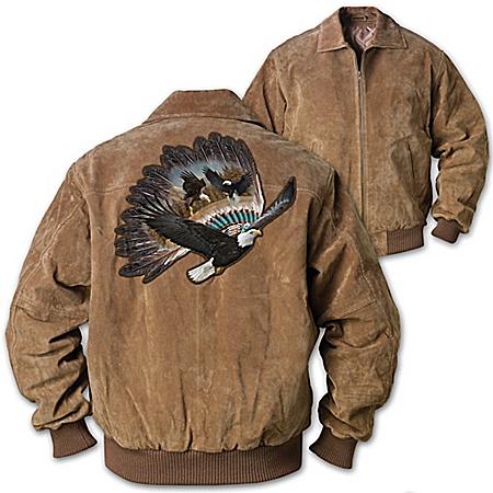 Photo of Men's Jacket: Eagle Warrior Men's Jacket by The Bradford Exchange Online