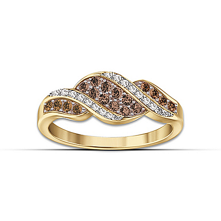 Photo of Women's Ring: Sweet Decadence Diamond Ring by The Bradford Exchange Online