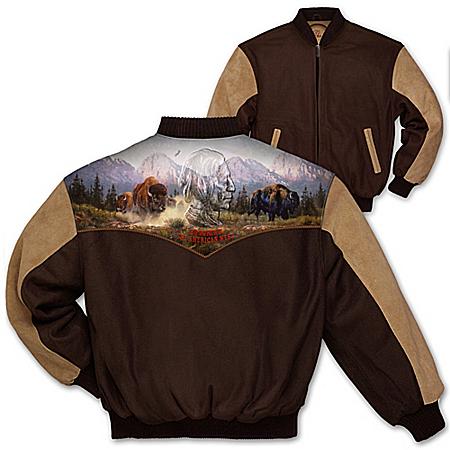 Photo of Men's Jacket: The American West Men's Jacket by The Bradford Exchange Online