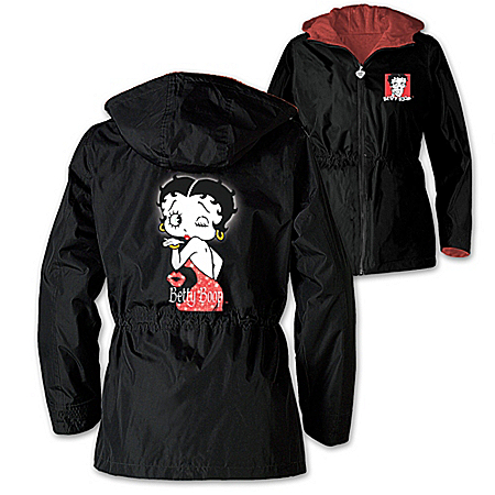 Photo of Women's Jacket: With Just A Wink Women's Jacket by The Bradford Exchange Online