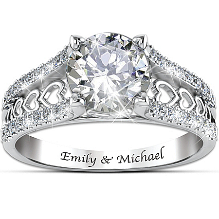 Photo of Ring: One Love Personalized Ring by The Bradford Exchange Online
