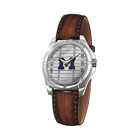 Photo of Men's Watch: Go Blue Men's Watch by The Bradford Exchange Online