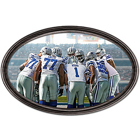 Photo of Wall Decor: Going The Distance Dallas Cowboys Personalized Wall Decor by The Bradford Exchange Online