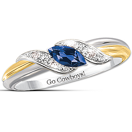 Photo of Ring: Pride Of Dallas - Cowboys Embrace Ring by The Bradford Exchange Online