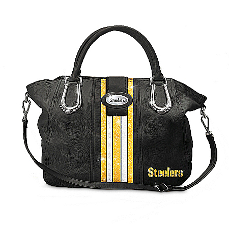 Photo of Downtown Chic Pittsburgh Steelers Handbag by The Bradford Exchange Online