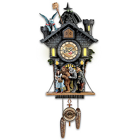 All In Good Time, My Little Pretty Cuckoo Clock With Barking Toto
