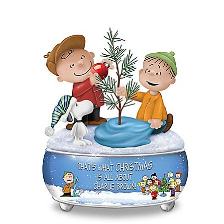 Image A Charlie Brown Christmas Sculptural Music Box