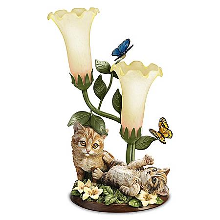 Purr-fectly Playful Kitten Lamp