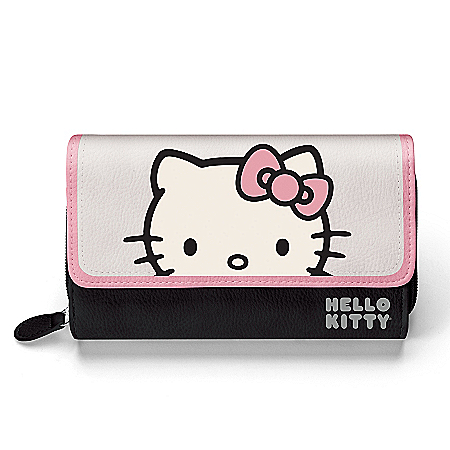 Photo of Hello Kitty Women's Tri-Fold Wallet by The Bradford Exchange Online