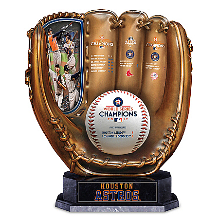 Photo of 2017 MLB World Series Champions Houston Astros Cold-Cast Bronze Glove Sculpture by The Bradford Exchange Online