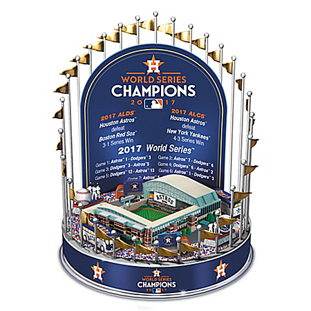 Photo of Houston Astros 2017 MLB World Series Champions Musical Carousel by The Bradford Exchange Online