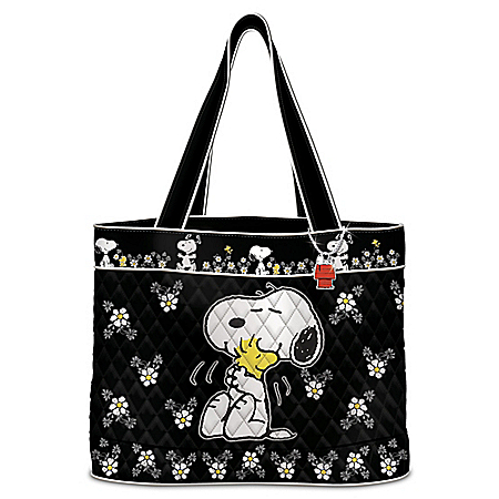 Creative Expressions Happiness Is Friendship Women's Quilted Tote Bag