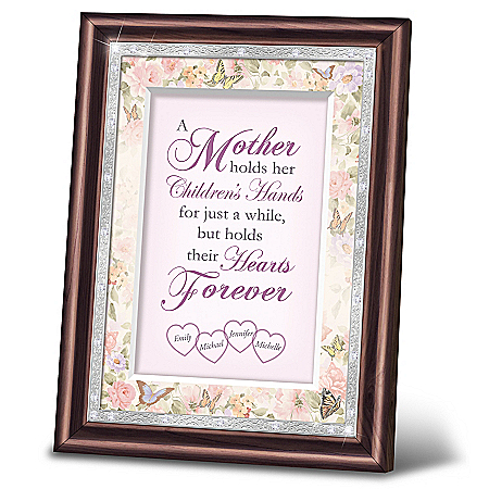 Photo of A Mother's Love Personalized Heirloom Frame Wall Decor by The Bradford Exchange Online