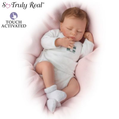 View Details So Truly Real Breathing Lifelike Baby Doll