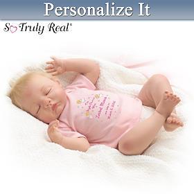 Baby Mine Personalized Lifelike Baby Doll
