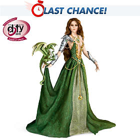 Emerald Enticement Fantasy Doll