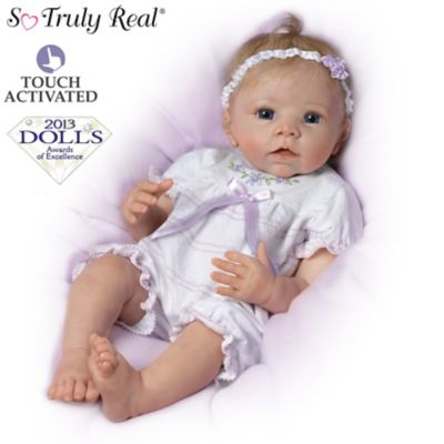 So Truly Real Lifelike Baby Doll Chloes Look Of Love