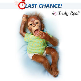 Baby Zula Monkey Doll