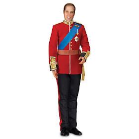 Prince William Royal Bridegroom Portrait Doll