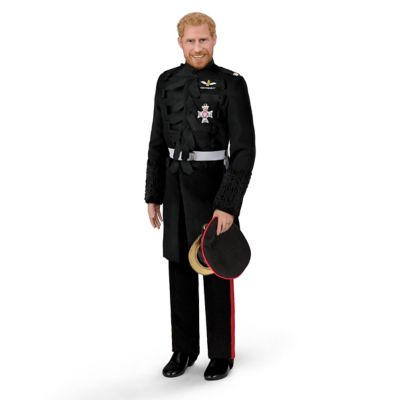 Click here to buy The Prince Harry Royal Wedding Porcelain Groom Doll.