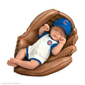 Born A Cub's Fan Baby Doll