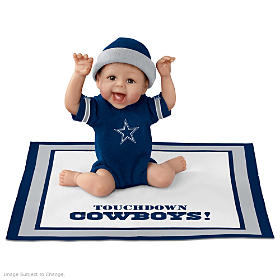 Touchdown Cowboys Baby Doll
