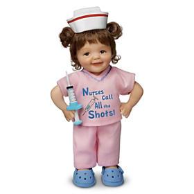 Nurses Call All The Shots Child Doll
