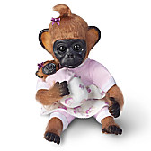 Gertie Plays Mommy Monkey Doll