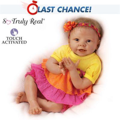 Interactive Baby Doll Eskimo Kisses