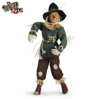 The Wizard Of Oz Scarecrow Singing Collector Doll by