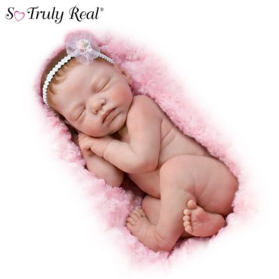 Lifelike Newborn Baby Doll By Marita Winters by
