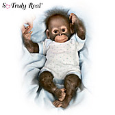 Baby Zachary Monkey Doll
