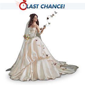 On Wings Of Love Bride Doll