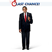 President Barack Obama Talking Commemorative Doll