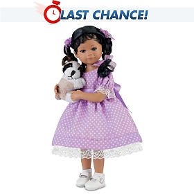 Kimani And Her Puppy Child Doll