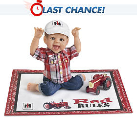 Farmall Pride Red Rules Baby Doll