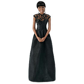 Michelle Obama Correspondents Dinner Portrait Doll