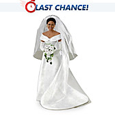 Michelle Obama Commemorative Bride Doll